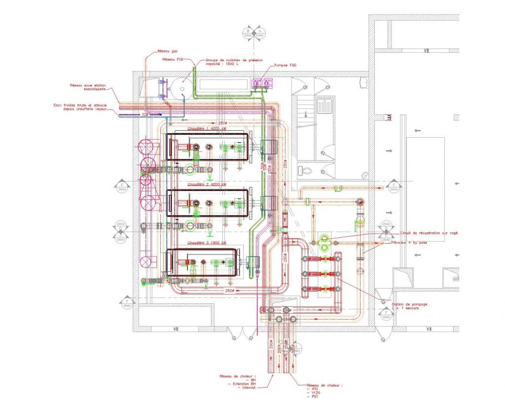 Nouvelle chaufferie - Plan ind 4-Model plan